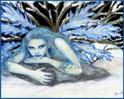 Frost Faerie by Terrauh