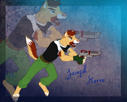 Your character of awesome - commission Naravox by StanHoneyThief