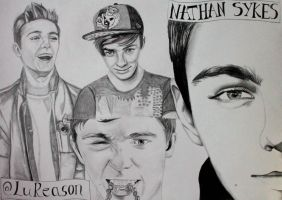 Nathan Sykes by Lu-Siobhan