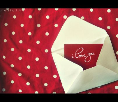 love letter by ra3iatha