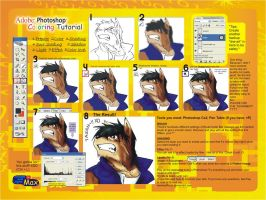 Photoshop Coloring Tutorial by WerewolfMax