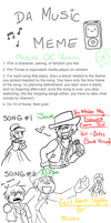 Music Meme by MousieDoodles
