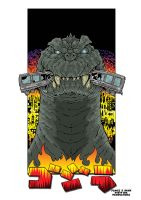 King Of The Monsters by JamusDu