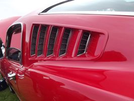 1965 Ford Mustang Side Grill by JS92