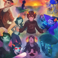 homestuck trolls by HK-Sno