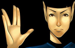 Mr. Spock by K-i-s-s-h-u