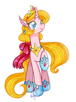 Land of Eponia contest entry 3:  Princess Megan by LethalAuroraMage