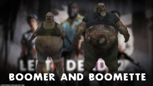 Boomer and Boomette - Left 4 Dead 2 by JhonyHebert