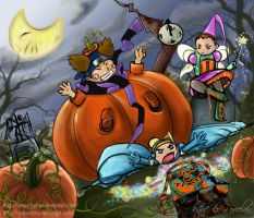 Once upon a Halloween by saikaistory