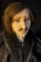 Nicolai Gogol close-up 2 by MarylinFill