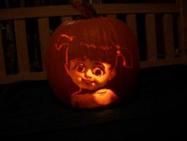 boo pumpkin by dorcasss