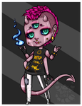 Demon Draw-to-Adopt [CLOSED] by rottenstarboy