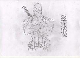 Deadpool by Fuckenzicki