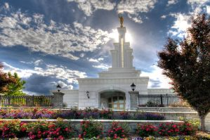 Columbia River LDS Temple 2008 by photecho