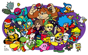 3DS Ambassadors - GBA Edition by fryguy64