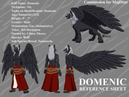 COM : Domenic Reference Sheet by whiteguardian