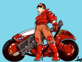 Kaneda_Chick by JayAPayne