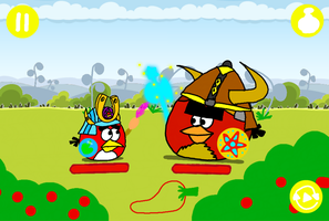 Angry Birds Epic - Red vs. Terence (with buttons) by AngryBirdsStuff