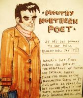 Mouthy Northern Poet. by rosie-etc