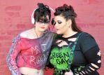 Punk Harley and Ivy Share a Song by Vpoolephotos