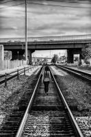 Train to Nowhere by TPextonPhotography