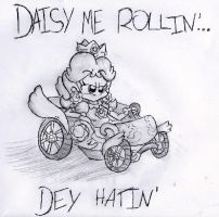 Daisy Me Rollin' by Chihuahuadragon
