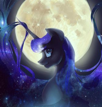 Once In A Blue Moon by My-Magic-Dream