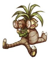 Exeggutor by NightmareHound