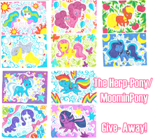 Art Give Away Herp Moomin Ponies! by Amenoo