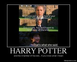 Harry Potter If You Know What I Mean... by BlackTshirtFan
