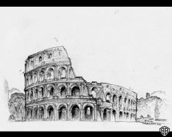 Colloseum, Rome by bozwolfbros