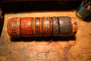 New leather bracelets by valentinnikolaevich