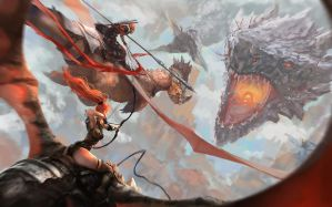 Dragon War by CGlas