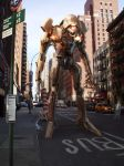 New York - Leinil Yu Mecha by SpiderGuile