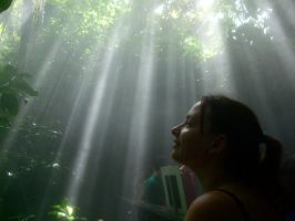 Katie in Rainforest in Desert by strtrknaxdunivrs
