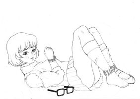 Sketch - Velma Dinkley by yeehoo