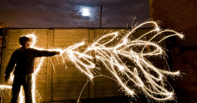 Wizard of light painting by bob-in-disguise