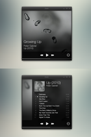 Imaginary Zune Player UI Design ideas by nevralgic
