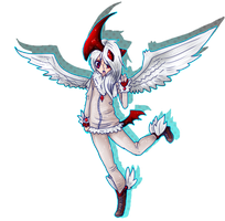 shiny mega absol adoptable CLOSED!! by xXDistorted-WishesXx