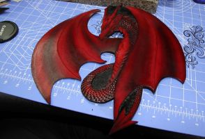 Dragon Crest wip by Azmal