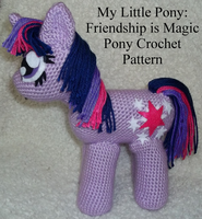 MLP: FiM Pony Crochet Pattern (W/O Tutorial) by CuriousPony