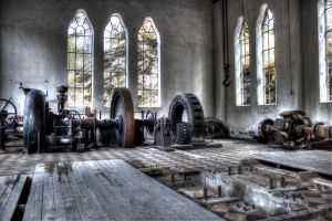 Old Hydropower Plant by Perand