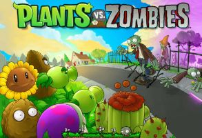 Plants vs Zombies by Freenewworld