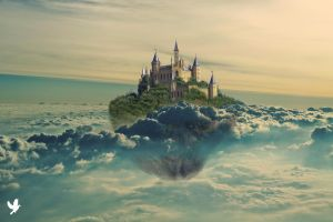 Sky Castle by dancpicturez