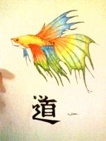 japanese fighting fish. by collective-soul