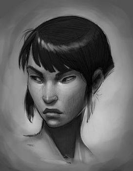 Face3 by KendallHaleArt