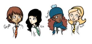 Hogwarts Honeys' by Emiline729