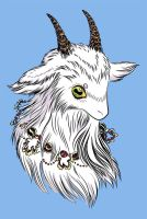 Tiny goat by Esquirol