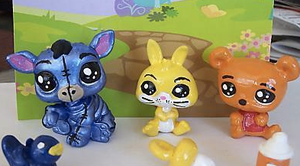 Winnie The Pooh LPS by maekitty333
