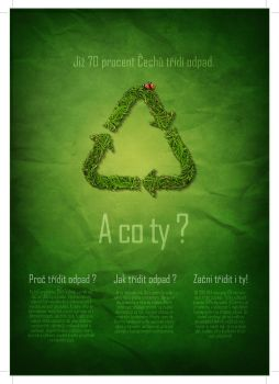 70 percent of czech people recycle. How about you? by Dannyawesome
